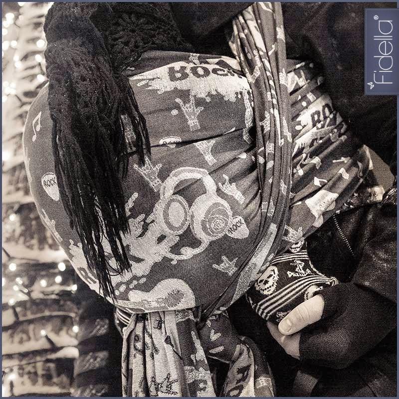 Fidella Wrap Rock n Rolla Silver in size 5.