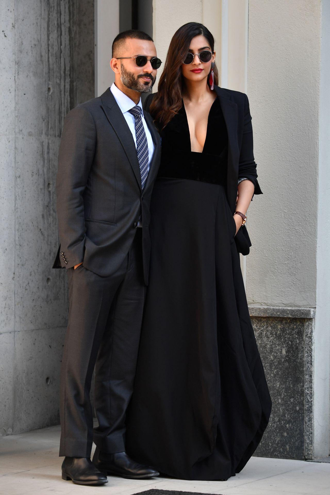 Sonam Kapoor at Milan Fashion Week