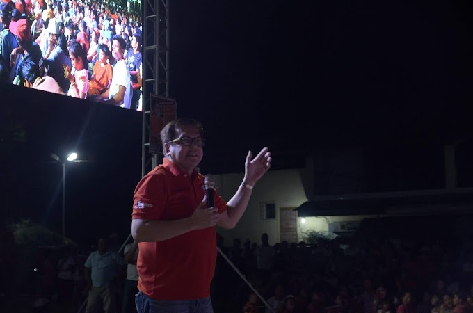 Cong. Ferj Biron holds Grand Rally in Maasin, Iloilo | Press Release