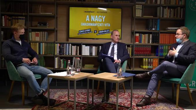 Orbán Balázs Gémesi Györgynek: stabil az önkormányzati rendszer