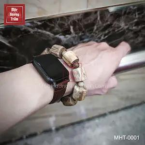 Vòng tay gỗ trầm hương MHT0001