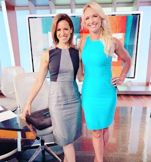 Picture of Sarah Kustok with her co-host