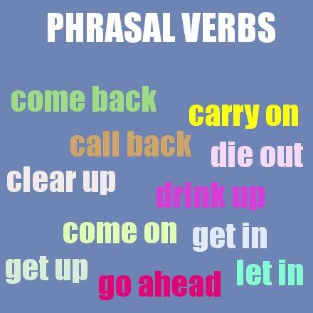 Blog Para Aprender Ingles Verbos Frasales En Inglés Lista