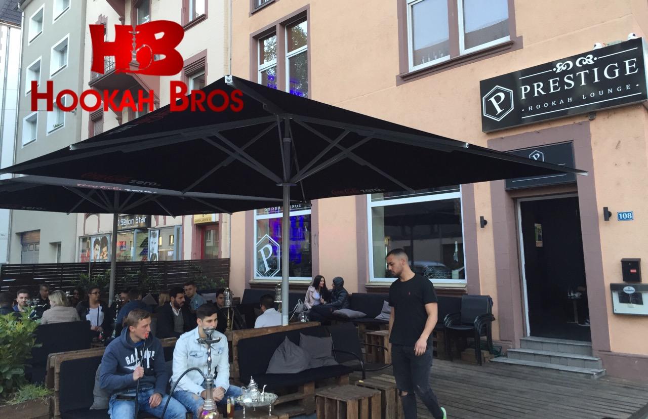 prestige hookah lounge frankfurt germania hookah bros. Black Bedroom Furniture Sets. Home Design Ideas