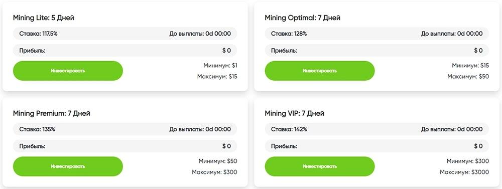 Инвестиционные планы Gera Capital 2