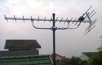 pasang antena tv digital uhf banten