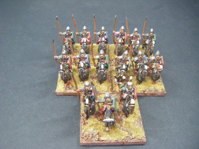 Wargaming Girl: Finished: 15mm Scythian Commander and