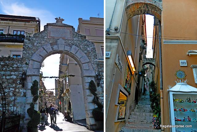 Centro Histórico de Taormina, Sicília