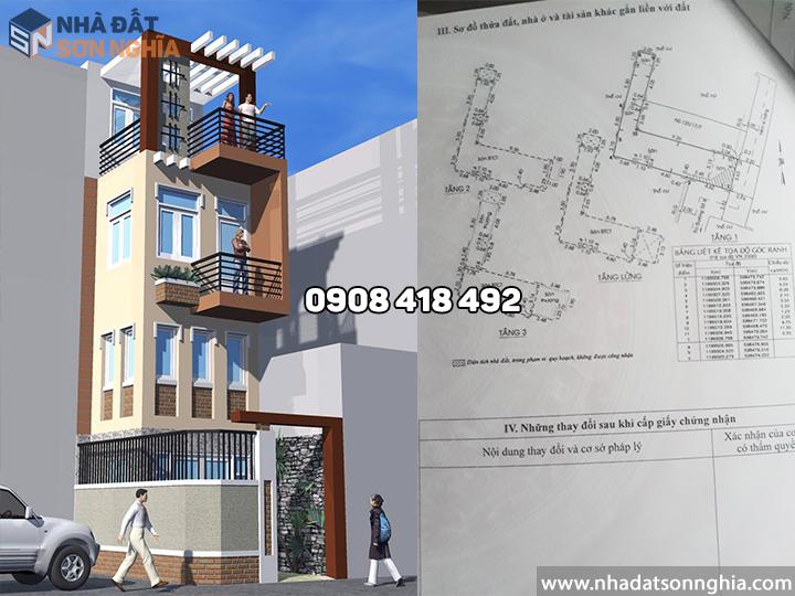 Bán nhà Gò Vấp hẻm 125 đường số 9 phường 9 MS077