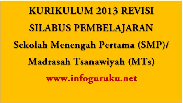 Download Silabus Smp Kurikulumum 2013 K13 Smp Kelas 7 8 Dan 9 Edisi Revisi Terbaru Infoguruku