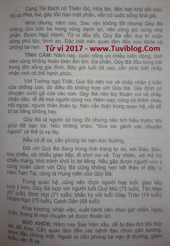 Giap Ngo nu mang 2017