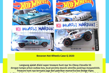 Bocoran Hot Wheels Case Q 2020