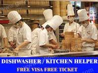 Required Kitchen Helper, Kitchen Staff, Kitchen Steward, kitchen Crew in Dubai