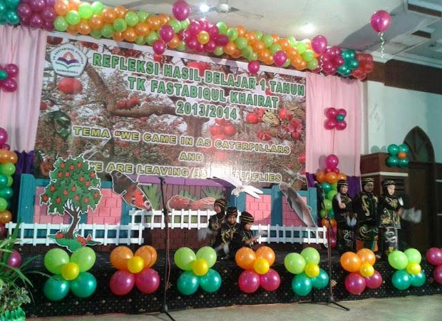 dekorasi panggung acara kreatif terbaru