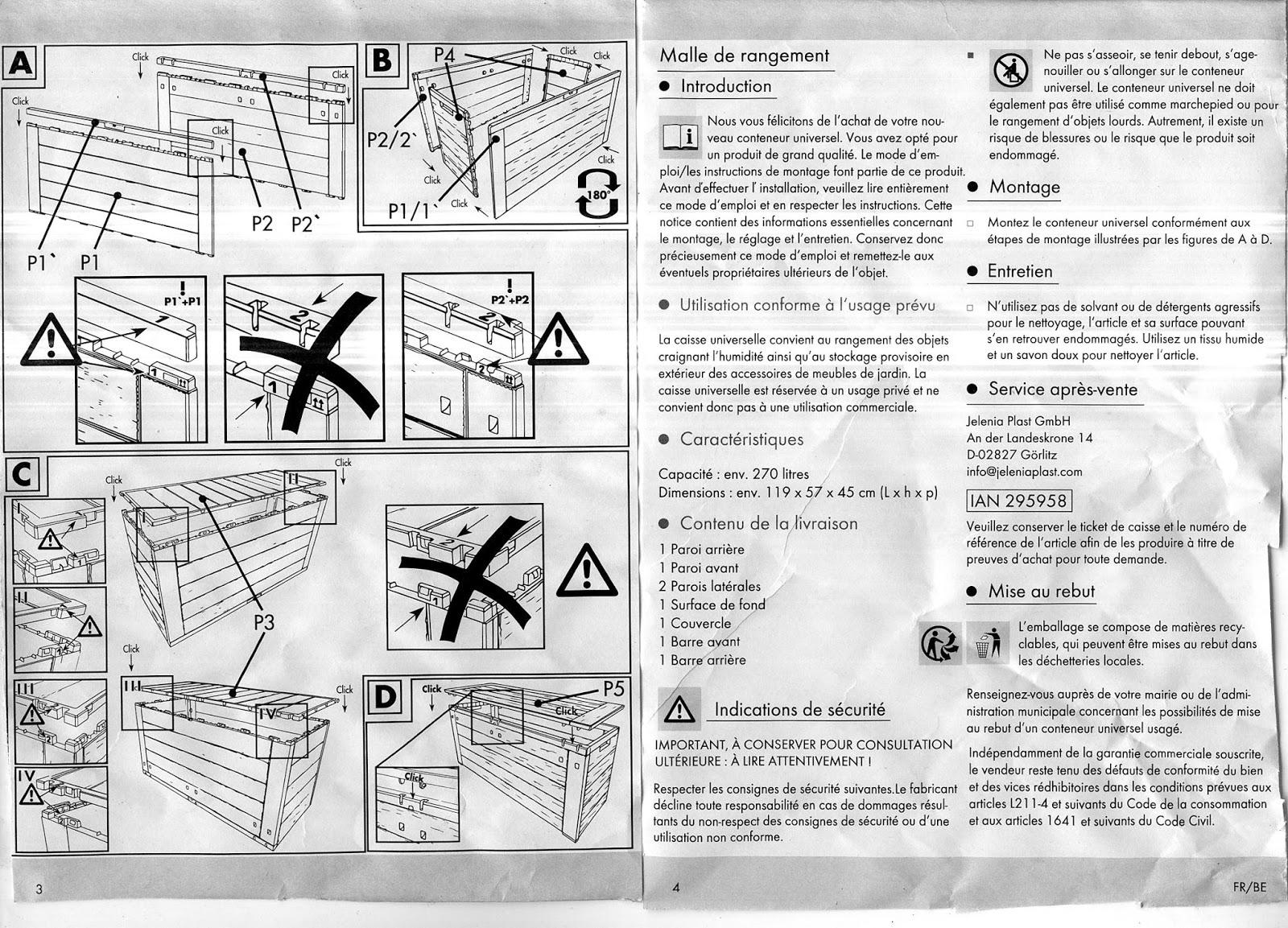 bas prix b13a5 efb17 La Défonce Du Consommateur: La malle de rangement pour ...