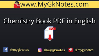 Chemistry Book PDF in English
