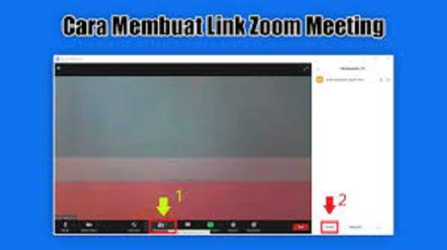 Cara Membuat Link Zoom Meeting