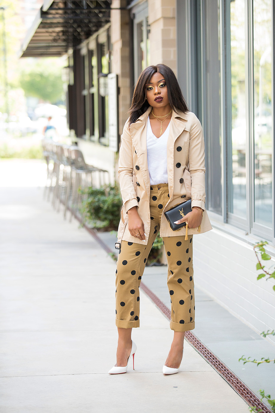 jcrew boyfriend chino in polka dot, www.jadore-fashion.com