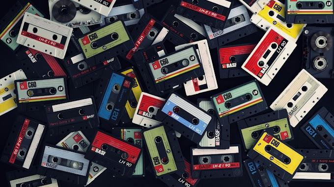 Vintage Fita Cassete