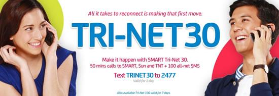 Smart TRI-NET30 Promo
