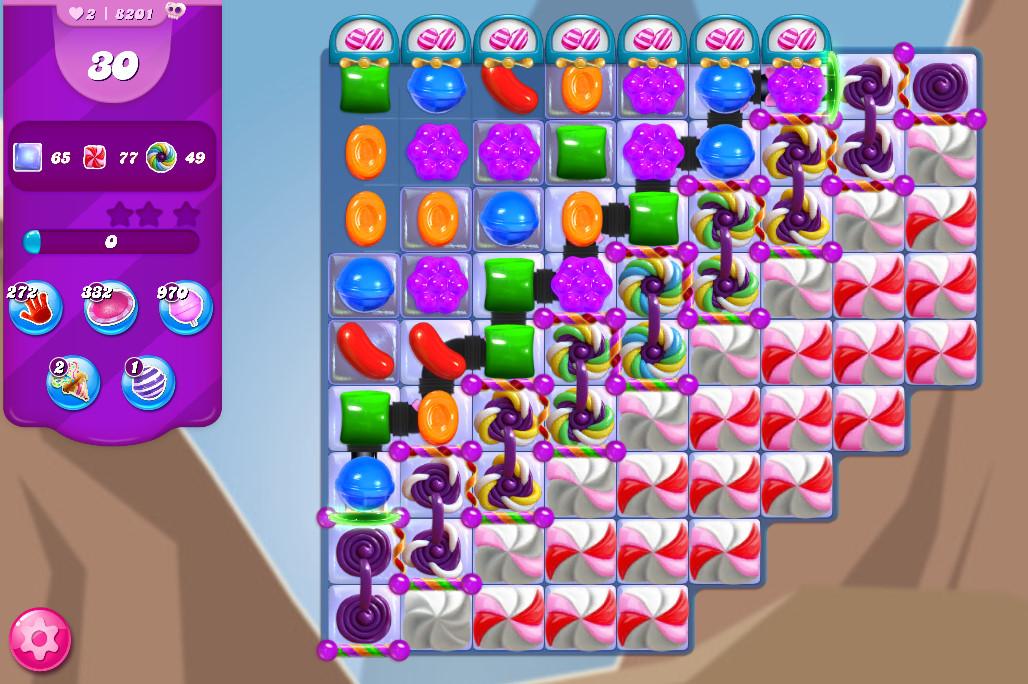 Candy Crush Saga level 8201