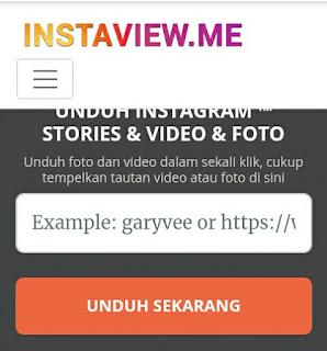 5 Cara Save Story IG Tanpa Aplikasi Menggunakan Situs instaview.me