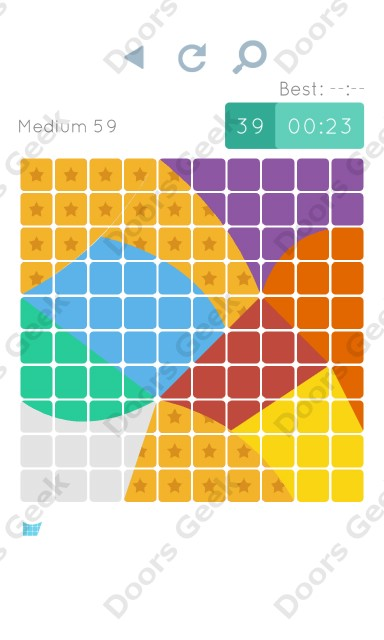 Cheats, Walkthrough for Blocks and Shapes Medium Level 59