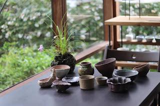 カワラナデシコの山野草盆栽と鉢作家さんの作品