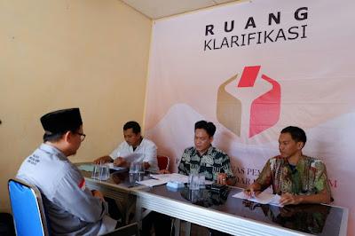 Panwaslu Minta Klarifikasi Ketua KPU Kota Bandar Lampung Perihal DPS Bermasalah