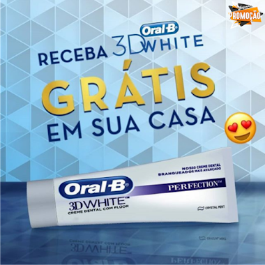 Amostras Grátis - Oral-B White Perfection