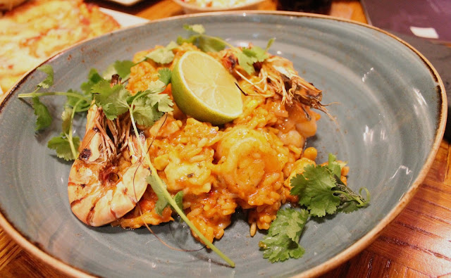 Chiquito Friars Walk Newport review  Mexican Paella