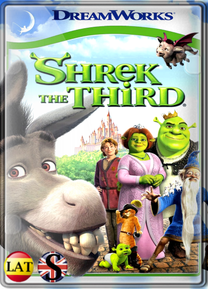 Shrek 3 (2007) HD 720P LATINO/INGLES