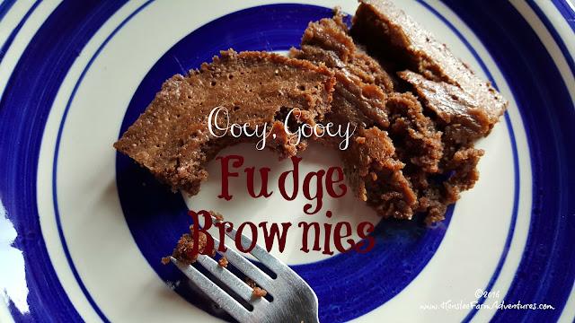 Ooey, Gooey, Fudge Brownies  www.HensleeFarmAdventures.com