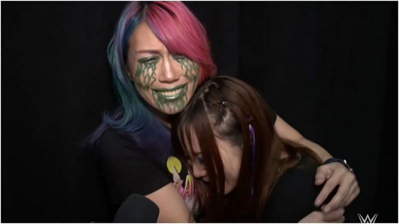 Kairi Sane sends heartfelt message to her friend Asuka after WWE exit