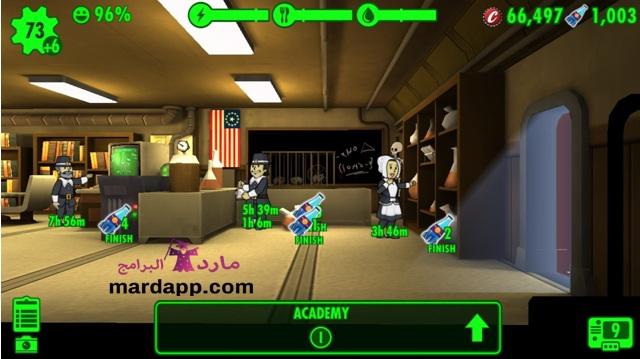 تحميل لعبة fallout shelter للكمبيوتر
