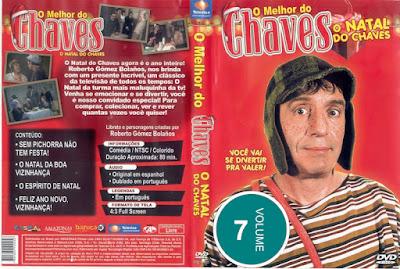 Série O Melhor do Chaves Volume 7 DVD Capa