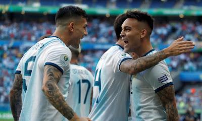 Video Cuplikan Gol: Argentina 4-0 Meksiko (Friendly)