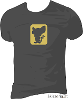 Brain Silhouette Shirt negativ