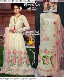 Single Ramsha Hit Design Pakistani Suits Collection