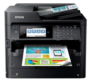 Satisfy the requirements of your purpose infinite piece keeping ink utilisation to a base of operations amongst the  Epson WorkForce Pro ET-8700 Drivers Download And Review