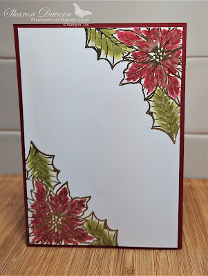Rhapsody in craft, Christmas, Christmas Card, Poinsettia Petals, Poinsettia Dies, Double Pop Up card, Double Pop up Fancy Fold Card, Fancy Fold Card, Fun Fold Card, Stampin' Up!,