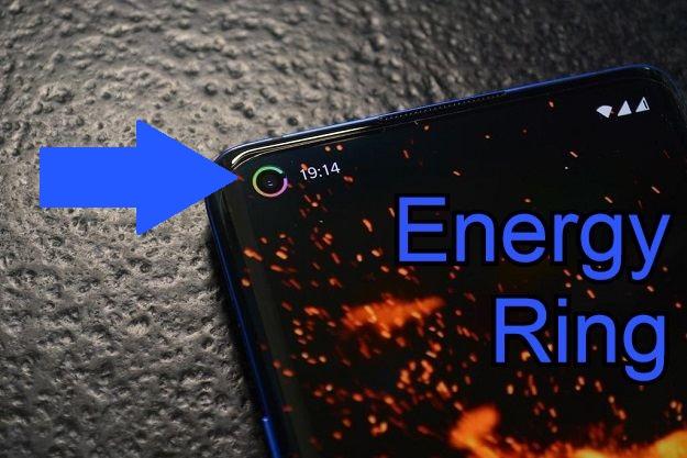 Energy Ring - Η εφαρμογή που θα απογειώσει όσα κινητά έχουν μπροστινή κάμερα μέσα στην οθόνη τους