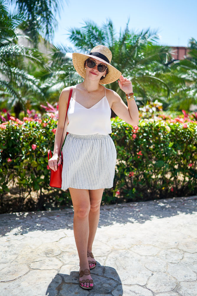 Krista Robertson, Covering the Bases,Travel Blog, NYC Blog, Preppy Blog, Style, Fashion Blog, Travel, Summer Must Haves, Fashion, Style, Outfit of the Day, Preppy Style, Blogger Style, Beach Trip, Vacation Style, Cancun, Sandos Mexico Resorts, Mexico Vacation, Beach, Weekend Trip, J.Crew