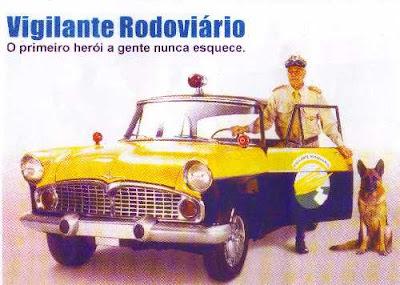 Vigilante Rodoviário e o seu Simca-Chambord