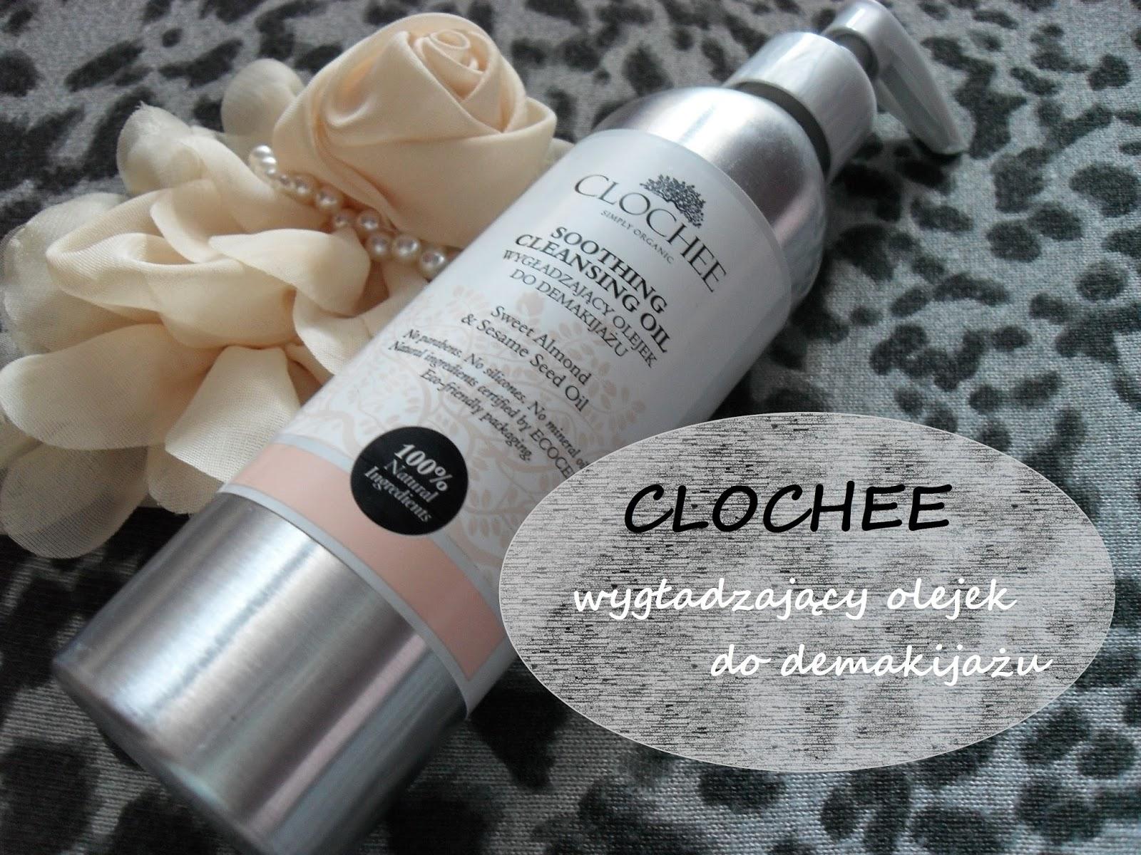 CLOCHEE - Wygładzający olejek do demakijażu