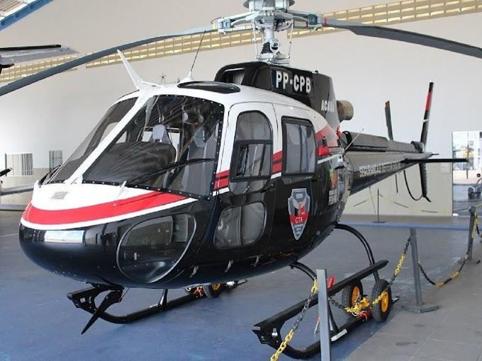Fora do céu, deputado procura por helicóptero Acauã do Governo do Estado