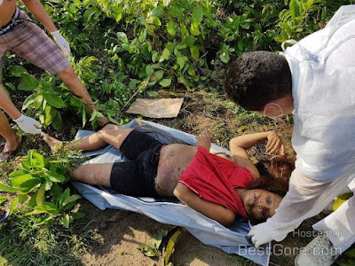 Brazilian couple kills 8 months pregnant woman and rip her unborn child right out of her stomach (graphic photos)
