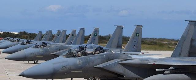 Στην 115 ΠΜ (Σούδα) τα F-15 της RSAF: Επίδειξη ισχύος με F-16 της ΠΑ σε αποστολές αεροπορικής υπεροχής (ΦΩΤΟ-ΒΙΝΤΕΟ)