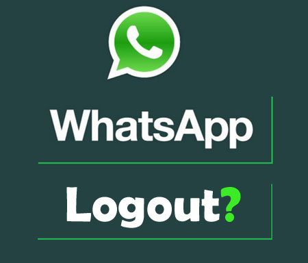 logout or Sign out from WhatsApp Messenger App