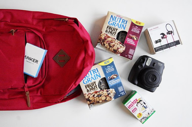 Instax Instant Camera and Nutri Grain Prize Pack Giveaway